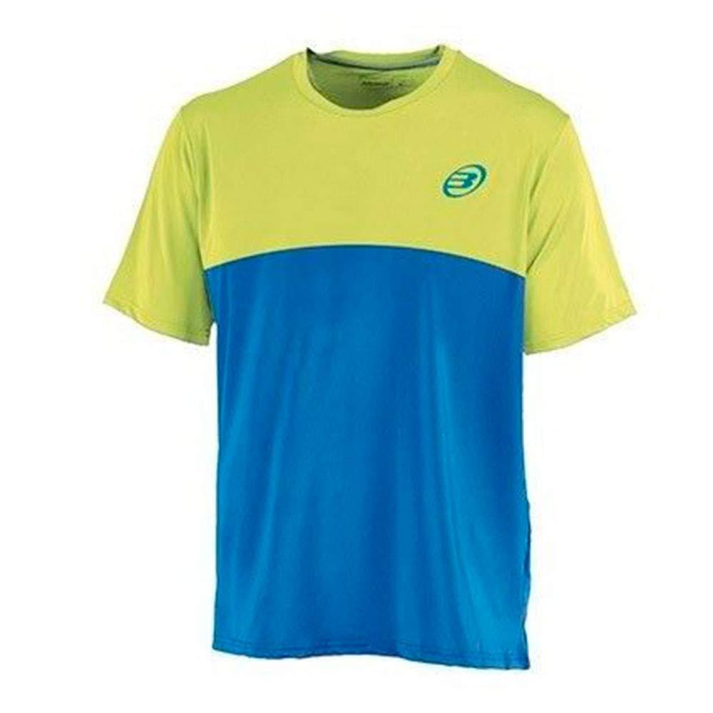 Bull padel Camiseta BULLPADEL BENAMARIEL Azul Amarillo: Amazon.es ...
