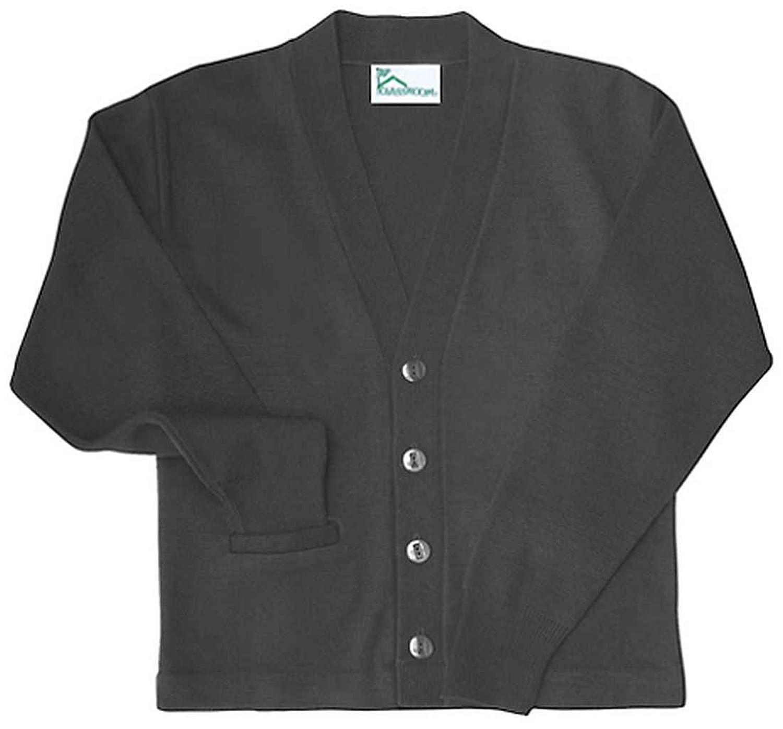 Henbury Mens V Neck Button Fine Knit Cardigan at Amazon Men's ...