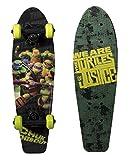 "PlayWheels Teenage Mutant Ninja Turtles 21"" Wood Cruiser Skateboard - Turtles of Justice Graphic"