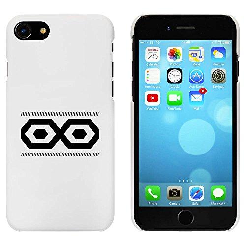 Blanc 'Motif Hexagonal' étui / housse pour iPhone 7 (MC00058696)