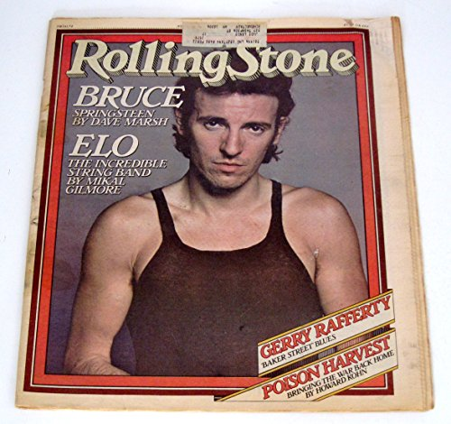 Rolling Stone Magazine August 24, 1978 Issue No. 272 Bruce Springsteen cover