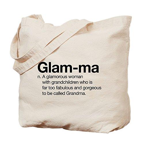 CafePress - Glam-Ma - Natural Canvas Tote Bag, Cloth Shopping Bag