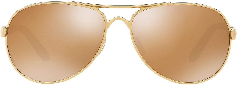 Oakley Milwaukee Mall Women's gift Oo4108 Tie Metal Breaker Sunglasses Aviator