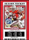 2019 Panini Contenders Draft Season Ticket #39 Ezekiel Elliott Ohio State Buckeyes NCAA Football Trading Card