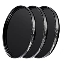 Neewer 55MM UV Lens Protection Filter for the Sony Alpha Series DSLR cameras with 18-55mm, 75-300mm f/4.5-5.6, 50mm f/1.4 lenses