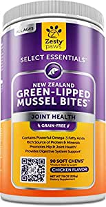 Amazon.com : New Zealand Green Lipped Mussel Chewable