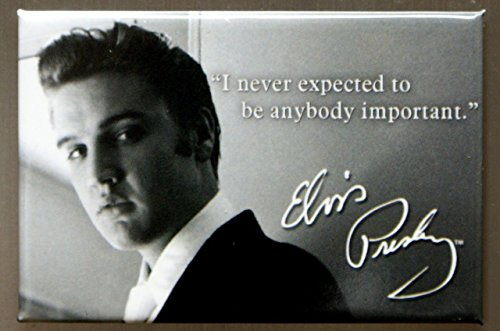 (2x3) Elvis Presley Important Quote Retro Vintage