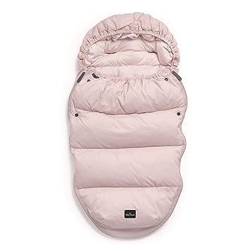 Elodie Detalles - Saco de dormir de plumón para cochecito y silla de paseo, color rosa: Amazon.es: Bebé
