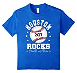 Houston Rocks Proud Texan Houston Texas Baseball T Shirt