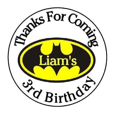 24 pegatinas personalizadas de Batman con logotipo de Batman ...