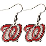 "MLB Washington Nationals ""W"" Logo Dangler Earrings"