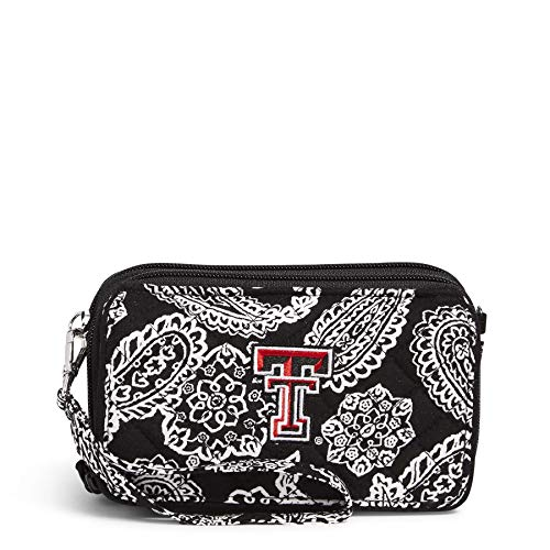 Vera Bradley Collegiate All in One Crossbody Purse with RFID Protection (Multiple Teams Available)