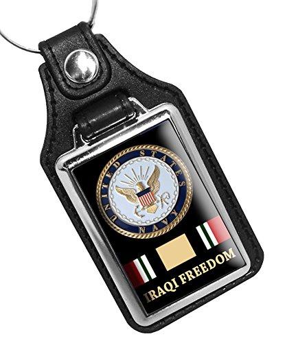 - BrotherhoodProducts United States Navy Iraqi Freedom Key Ring