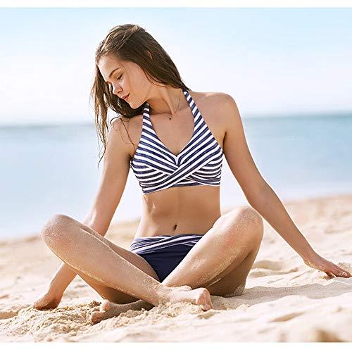 Diviso Il colore Sottile Dimensioni Chenyang86 6 Costume Bagno 1 Vacanza Una Petto Xxl In Era Spiaggia Femminile Da Bikini Un Piccolo 5wPqw7Ua