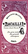 Racaille par Belzunce