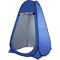 Bloodyrippa Portable Pop Up Changing Room Dressing Tent, Instant Outdoor Shower Tent, Camp Toilet, Sun & Rain Shelter for Camping, Beach, Lightweight, Foldable, Come with Carry Bag