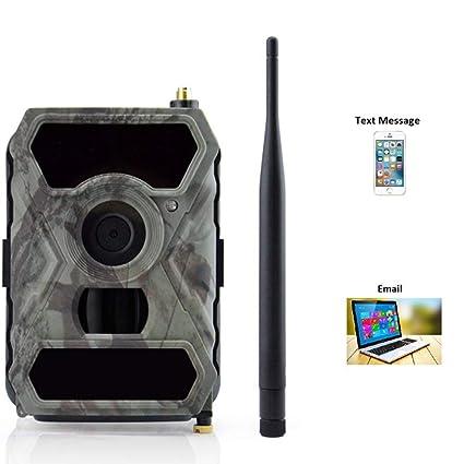 Amazon.com: ZLMI 12 millones 1080 3G MMS caza cámara soporte ...