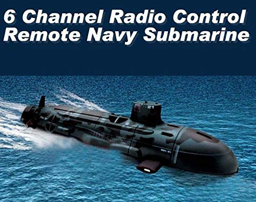 R/c Submarine - 6 Channel Radio Control Remote Navy Submarine Radio Control Boat