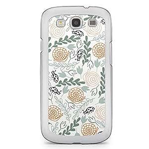 Green and Wild 2 Samsung Galaxy S3 Transparent Edge Case