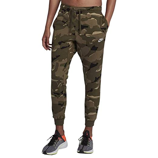 : Nike Men's Sportswear Club Camo Brushed Back