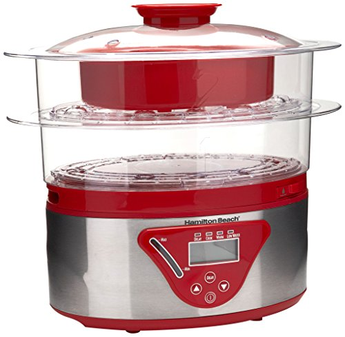 Hamilton Beach 5 5 Quart Digital Steamer
