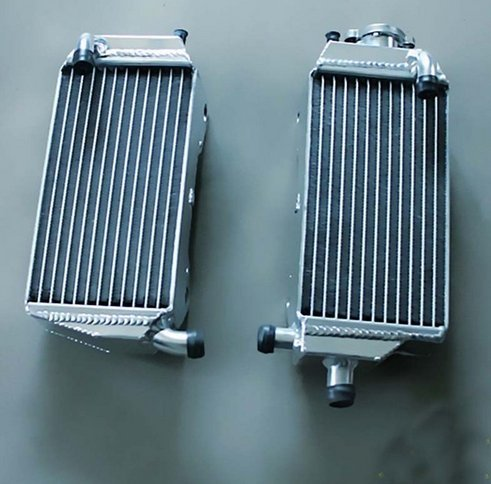Photo GOWE Radiator For Aluminum Radiator For HONDA CRF250R WITH CR500R ENGINE 2004-2009 2007 2008;CR500AF