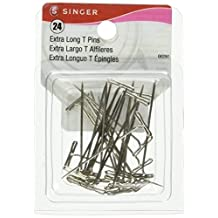 Singer Size 28 T-Pins, 24-Pack