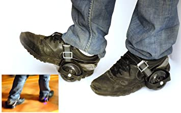 a46ae37a04f186 XRollers, les roulettes lumineuses adaptables à vos chaussures ...
