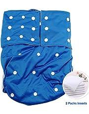 Jolie Diapers Pañales para Adultos Ropa Interior ABDL Reutilizable Pañales de Tela para Mujeres y Hombres Necesidades Especiales Pantalones de protección para el Cuidado de la incontinencia