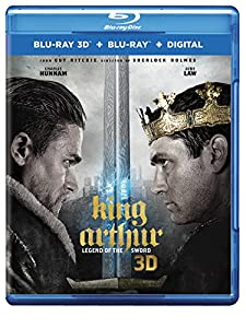 Cover Image for 'King Arthur: Legend of the Sword [Blu-ray 3D + Blu-ray + Digital]'