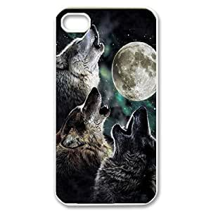 Custom New Cover Case for iphone 5c, Wolf and Moon Phone Case - HL-R11