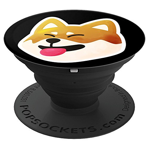 Shiba Inu Akita Inu Funny Cute Japanese Dog Gift - PopSockets Grip and Stand for Phones and Tablets - Akita Inu Dog