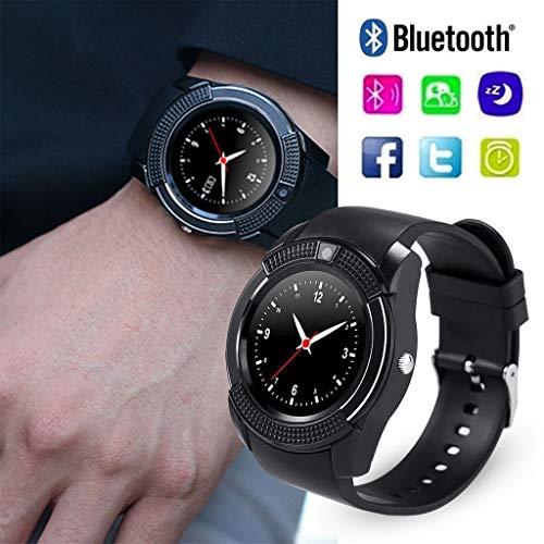 FidgetFidget Smart Watch Bluetooth Sport Watch TF Slot for Smaung S9 S8 Huawei P10 for Samsung A3 A5 A7 A8 A9