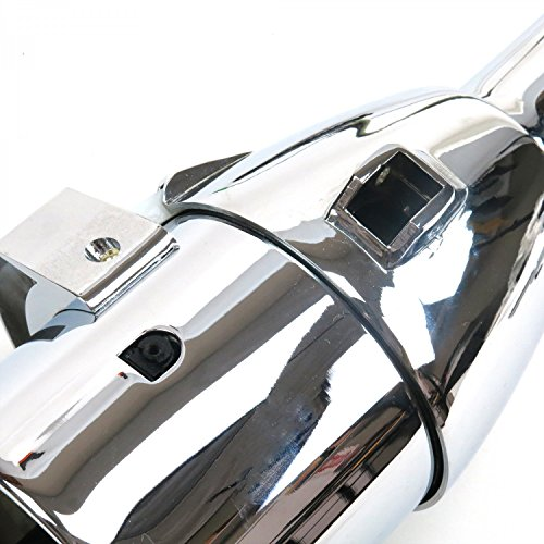 Helix 9990 33'' Chrome Automatic Steering Column with Gear Indicator Window/Shifter by Helix (Image #3)