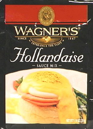Wagner's Sauce Mix Hollandaise 1.25 Oz (Pack of 3)