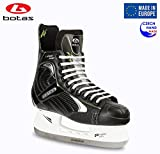 Botas - Largo 571 PRO - Men's Ice Hockey Skates | Made in Europe (Czech Republic) | Color: Black, Size Adult 11