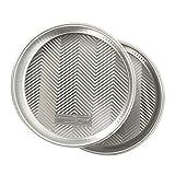 Nordic Ware 46971AMZ Prism 9-Inch Round Cake Pan, 2-Pack