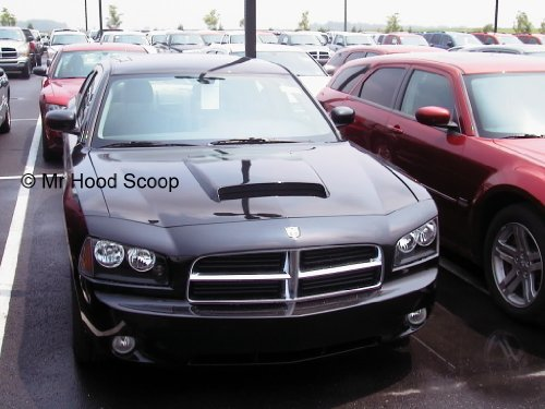 dodge charger scoop - 2