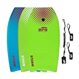 "BPS 37"" Bodyboard - 2017 - Improved Deck - Green, Purple"