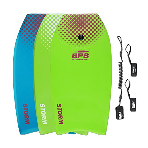 "BPS 33"" Bodyboard - 2018 - Improved Core - Green, Purple"