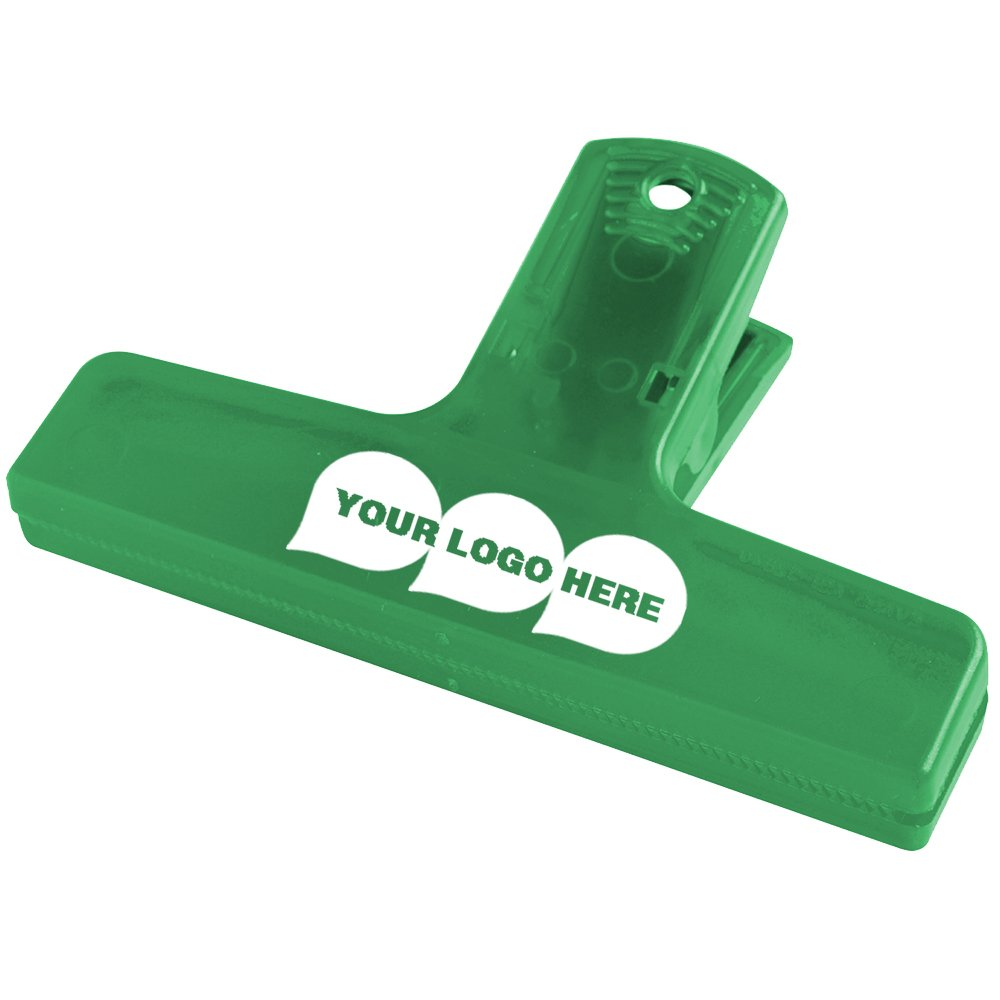 4'' Keep-it Clip - 250 Quantity - $1.09 Each - PROMOTIONAL PRODUCT / BULK / BRANDED with YOUR LOGO / CUSTOMIZED. Size: 2-1/2''H x 4''W x 1-1/8''D