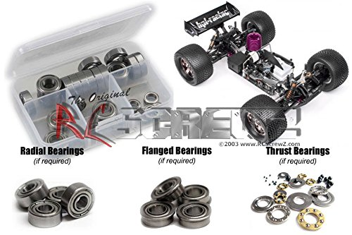 RC Screwz Metal Shielded Bearing Kit for HPI Racing Trophy Truggy ()