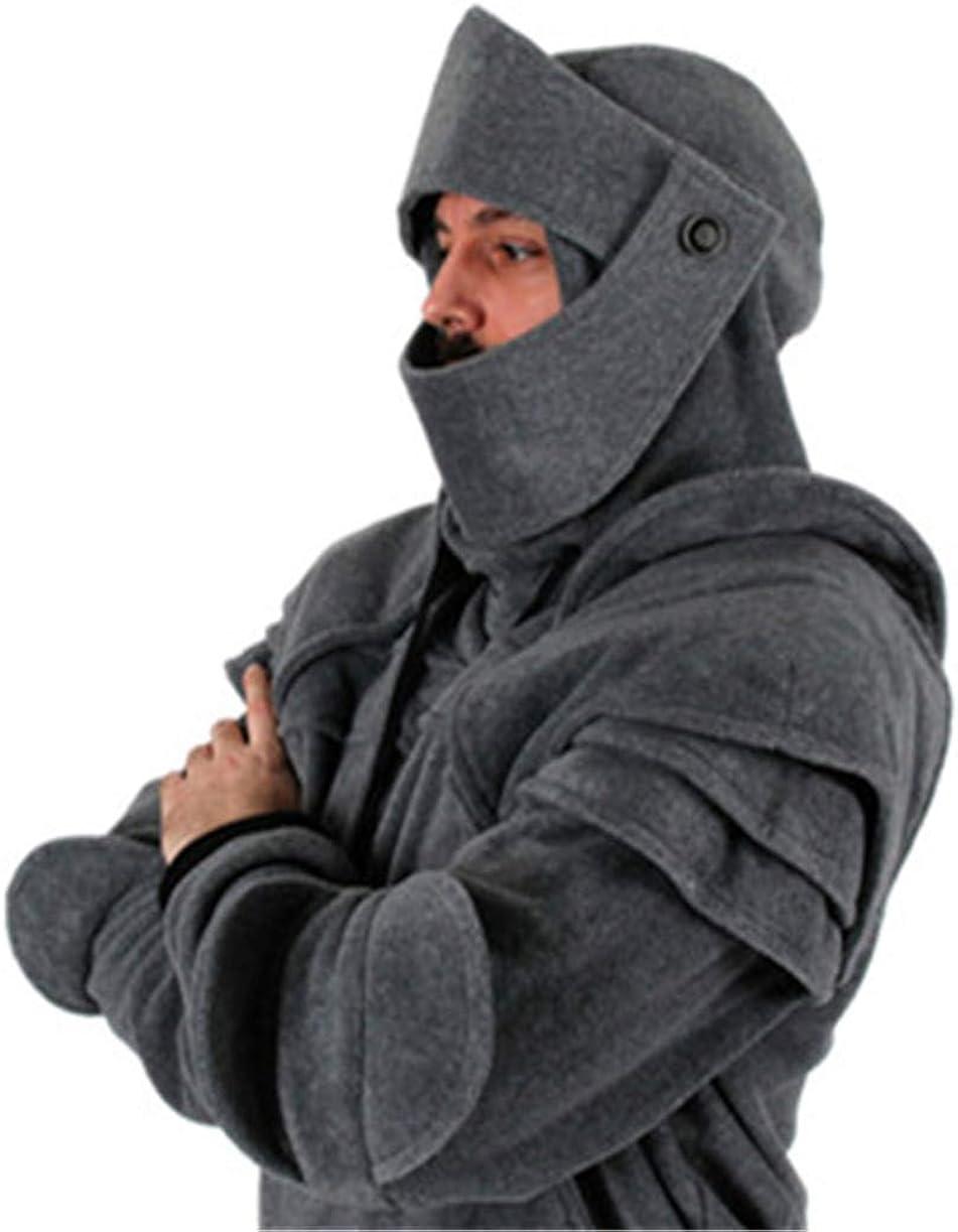 Herren Langarm Pullover Mann Junge warme Parka Trenchcoat