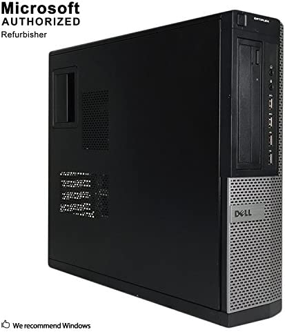 Dell Optiplex 7010 Business Desktop Computer (Intel Quad Core i5-3470 3.2GHz, 16GB RAM, 1T SSD, USB 3.0, DVDRW, Windows 10 Professional) (Renewed)