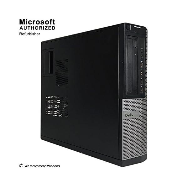 Dell Optiplex 7010 Business Desktop Computer (Intel Quad Core i5-3470 3.2GHz, 16GB RAM, 1T SSD, USB 3.0, DVDRW, Windows 10 Professional) (Renewed)