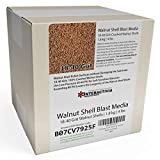4 lbs or 1.8 kg Ground Walnut Shell Media 18-40 Grit - Medium Coarse Walnut Shells for Tumbling, Vibratory Or Blasting