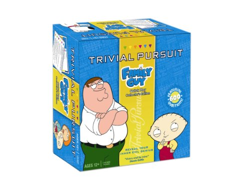 Trivial Pursuit Quick Play Family Guy ()