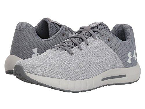 嫌がる後方放棄(アンダーアーマー) UNDER ARMOUR レディースランニングシューズ?スニーカー?靴 UA Micro G Pursuit Steel/Elemental/White 5.5 (22.5cm) B - Medium