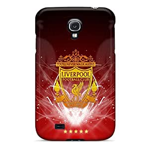 Durable Hard Phone Cases For Samsung Galaxy S4 (gGv4085IQmR) Provide Private Custom Realistic Liverpool Sport Image