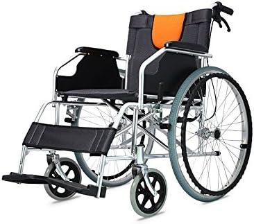 POLIRONESHOP LIGERA Silla de ruedas de aluminio plegable y autopropulsable